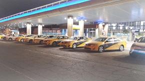 تاکسی های فرودگاه