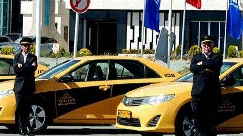 رانندگان تاکسی فرودگاه